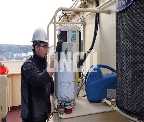 Gemi soğutma - ısıtma sistemleri