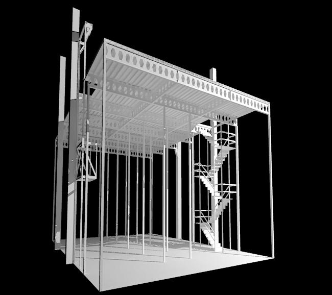 Soğuk Hava Deposu Çelik Konstrüksiyon Projesi